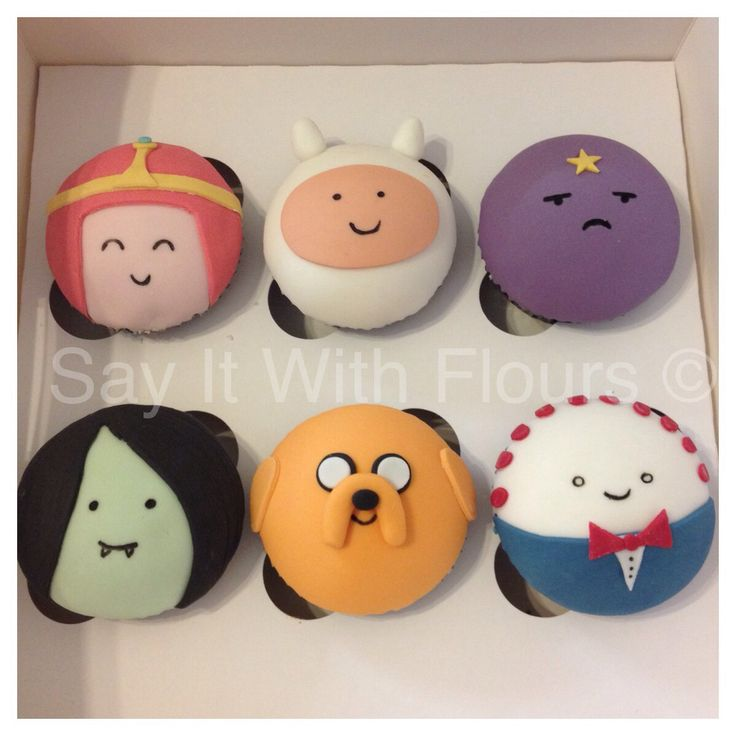 Adventure Time cupcakes.... Dude I tried so many years trying 2 master them...