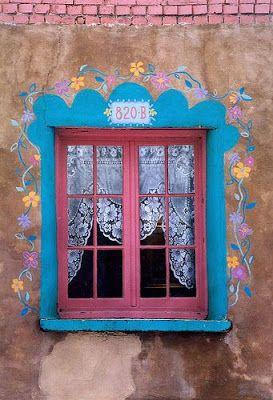 A Jurubeba Cultural:      ● A Arte ... e a janela  (Santa Fé. Novo México).