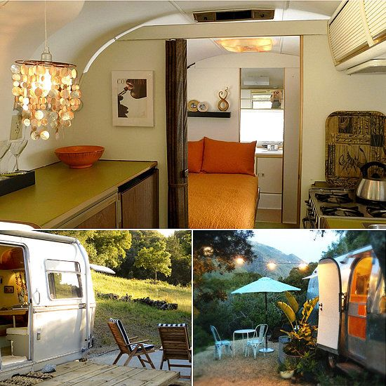 Big Sur Getaway's cute airstream - Airstream Campers to Rent This Summer