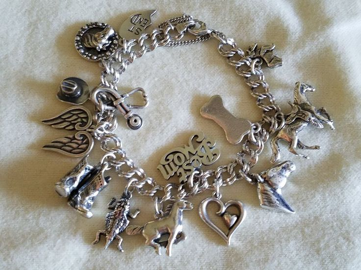 James avery bracelet with 14 charms #JamesAvery