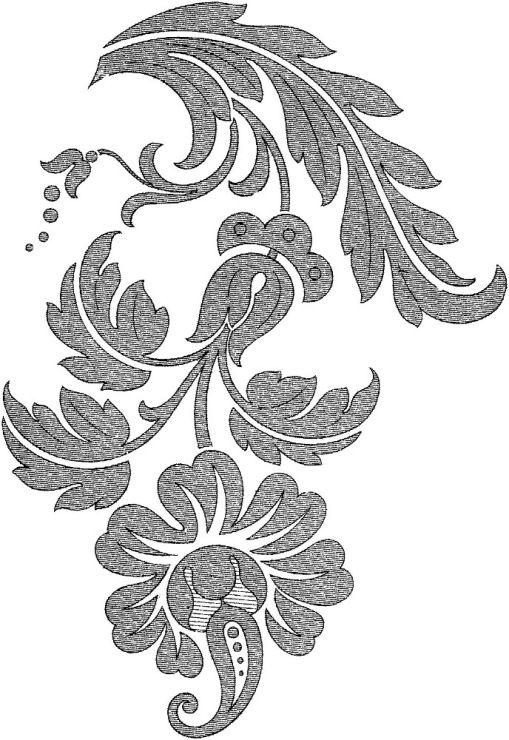 best 25 floral motif ideas on pinterest. Black Bedroom Furniture Sets. Home Design Ideas