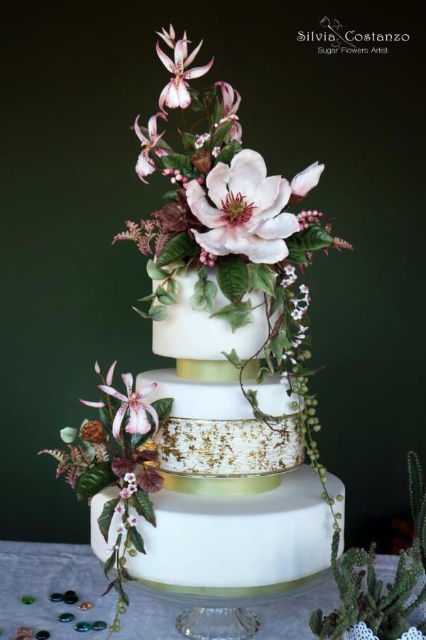 SFCB World Cancer Day Collaboration  by Silvia Costanzo - http://cakesdecor.com/cakes/270243-sfcb-world-cancer-day-collaboration