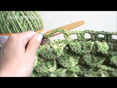 Ponto de Crochê Crocodilo - Aprendendo Croche - YouTube