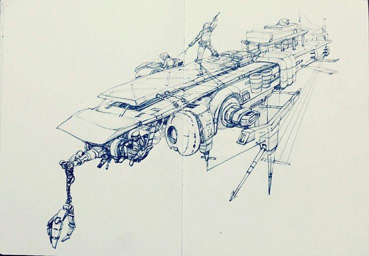Space fisher。finish #artist #illustrator #painting #drawing #manga #漫画 #girl #graffiti #note #pencil #copic #tokyo #korea #taipei #newyork #art #style #battlefield #womenwarriors warrior #battlefield#hero #space  #Science Fiction #fantasy #perseverance #tough #robot#cockpit #flighter #pilot #만화
