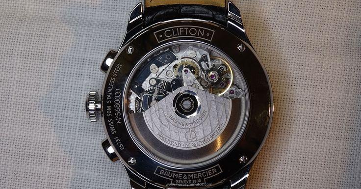 Baume & Mercier Clifton Chronograph calibre