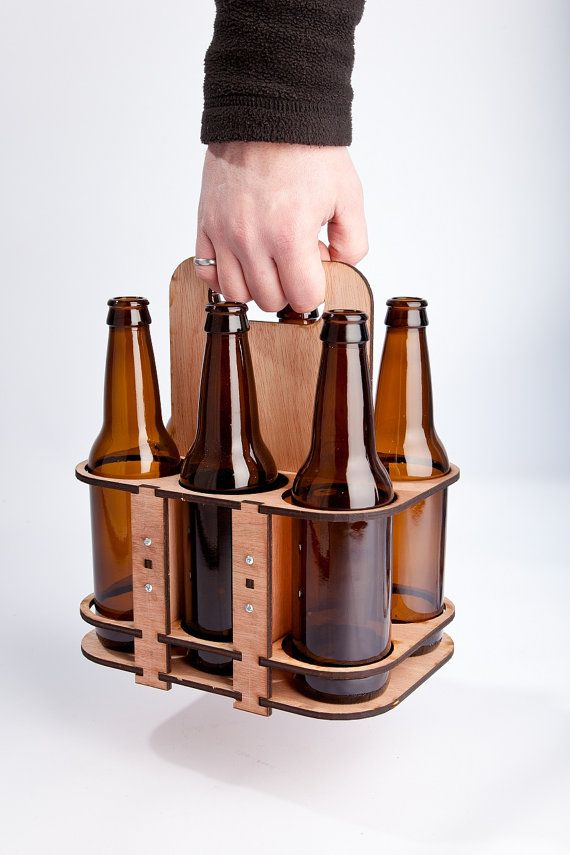 Laser Cut 6 Pack holder