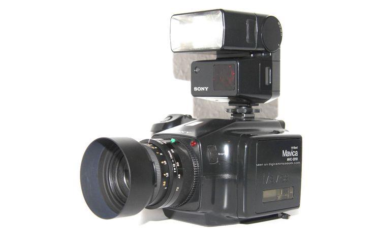 Sony ProMavica MVC-2010 - ULTRA RARE still video camera 1990 - IMPOSSIBLE FIND