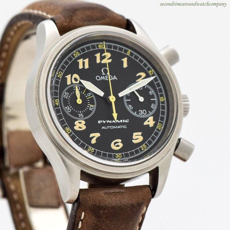 1997 Omega Dynamic Chronograph Ref. 175.0310 Stainless Steel Watch