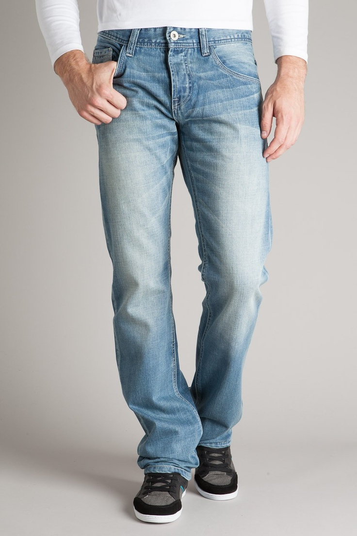 Jeans homme regular RIO effet used - Achat vente Jeans homme regular RIO effet used - Bonobo