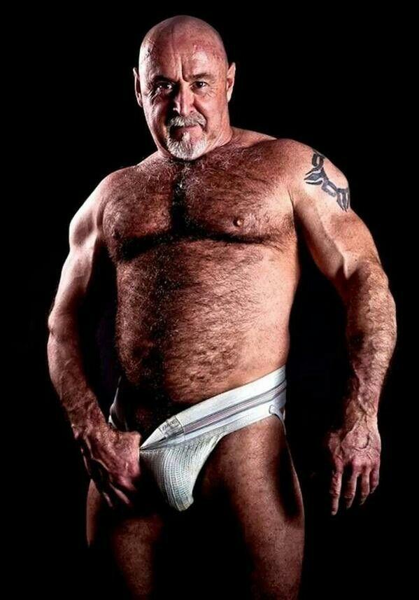 mature bear fucks jock