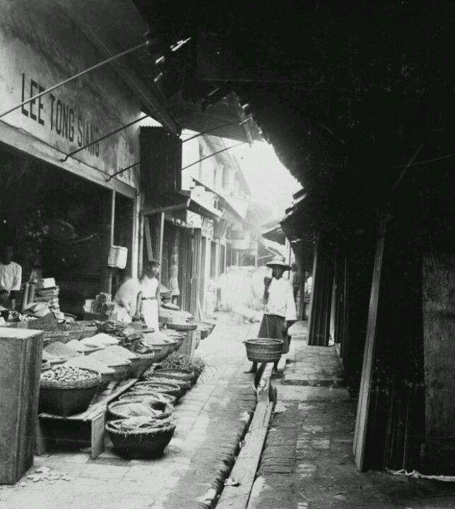 Chinese market jakarta 1930