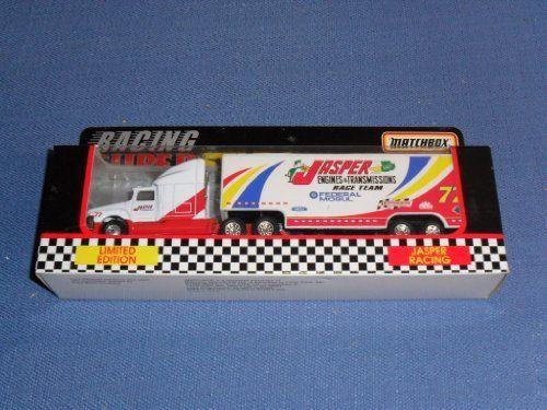 1996 NASCAR Matchbox Superstars . . . Jasper #72 Engines & Transmissions / Federal Mogul Racing Team . . . 1/87 Scale Transporter Diecast . . . Limited Edition 1 of 6,000 by NASCAR. $3.95