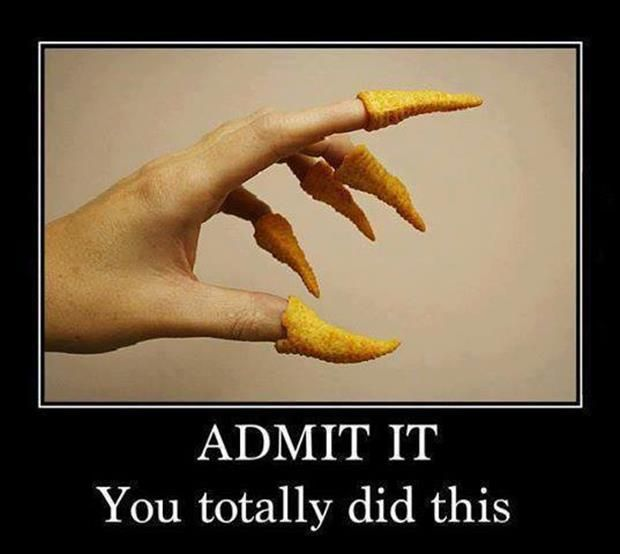 The Bugle Claws!  I am guilty!