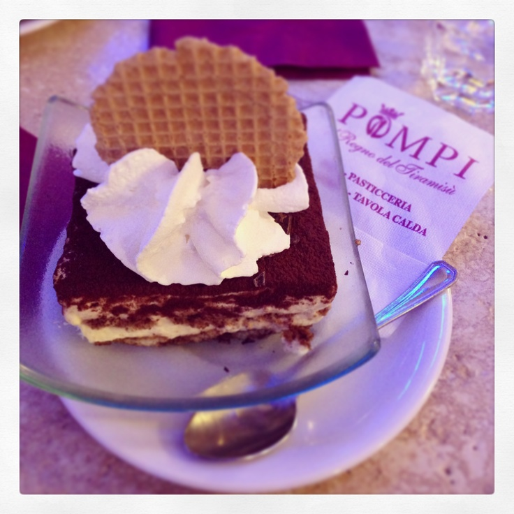 Pompi Bar, The best Tiramisu in Rome