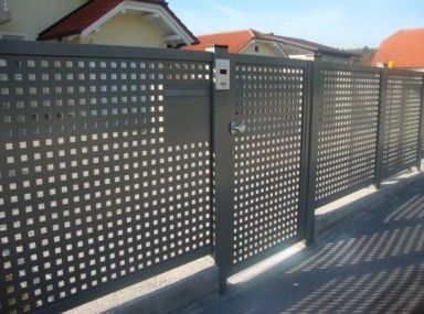 Fancy Types Of Aluminum Fence Panels And Aluminum Fence