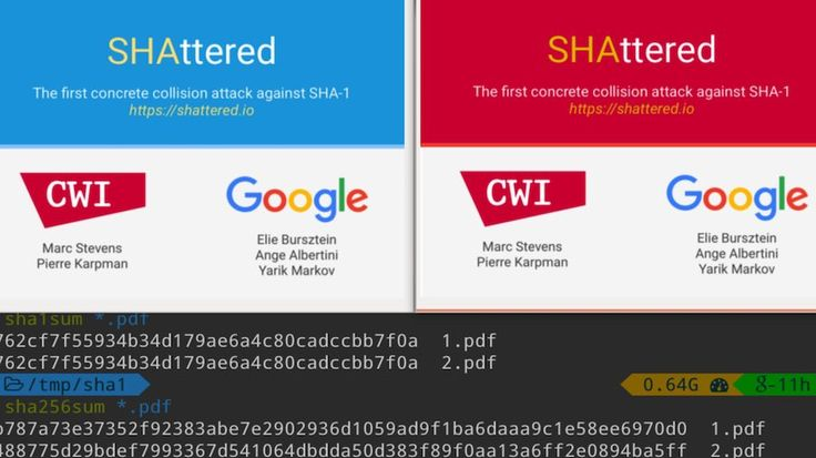 Google Just Broke SHA-1 Encryption — One Of The Most Popular Cryptographic Hash Functions  #news