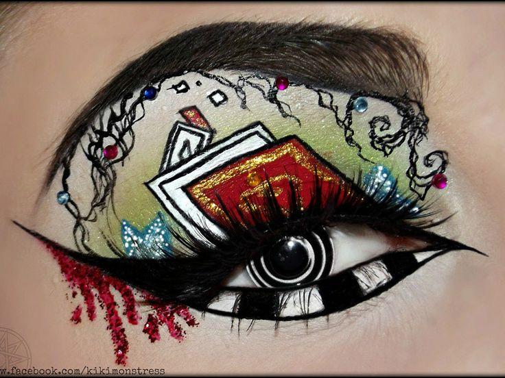 Les 25 meilleures id es concernant maquillage mad hatter sur pinterest chapelier fou cosplay - Maquillage chapelier fou ...