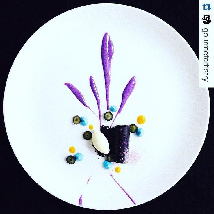 """Purple Dream"" Blueberry | Mascarpone | Ivory Chocolate | Oreo Crumbs by @enggieakusumah"