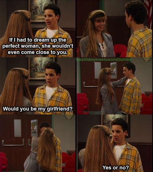 boy meets world cory and topanga relationship