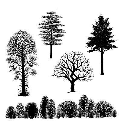 Lavinia Stamps Ltd – Product categories – Landscape and trees