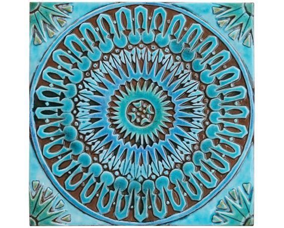 Marokkaanse barrière art #3 gemaakt van keramiek.  Deze Marokkaanse barrière kunst tegel is gesneden in diep reliëf met behulp van de hoogste kwaliteit aardewerk. Onze keramische tegels zijn hand geschilderd waardoor elk een echt uniek.  Onze Marokkaanse tegels ziet er geweldig uit als de badkamer wand decor als individuele verklaring kunstwerken of als alternatief kunnen worden gegroepeerd om grotere installaties voor interieur of exterieur muren.  Onze kunst aan de muur is gemakkelijk…