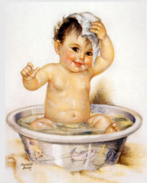 268 Best Vintage Baby Prints Images On Pinterest Baby