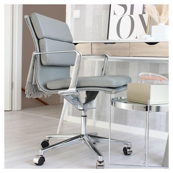 Soft Pad Burostuhl Mit Kurzer Ruckenlehne Schwarz In 2020 Home Office Furniture Design Office Chair Contemporary Home Office