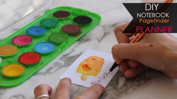 DIY Notebook 🍑 Frutta | Fruits - Segnapagina Pagefinder Planner