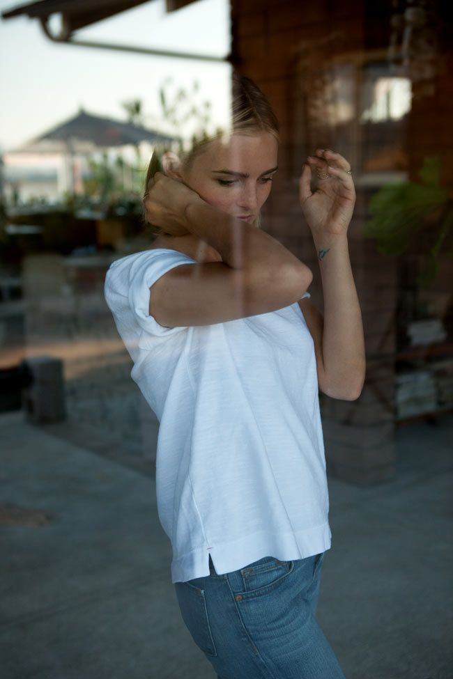 : At Home, Workshop Tees, White Tees, Shirts, Blue Jeans, Posts, Denim, Tw Tees3, Perfect Outfits