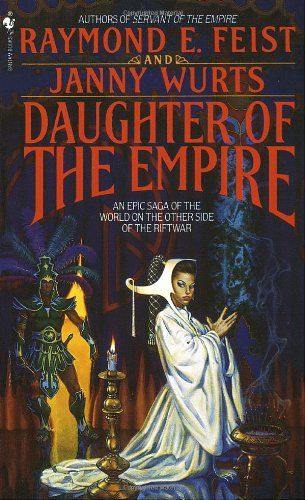 Daughter of the Empire- If you only read one fantasy series, this is the one I recommend. It is a great look at fantasy Asian culture and the ideas of honor and nobles. Most fantasy novels take place in fantasy Europe, so it is a fresh idea and really changes several well used themes to create a new and interesting realm. The realm also hooks into a fantasy Europe for the ones seeking out traditional fantasies.