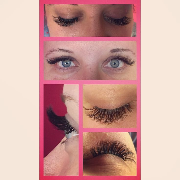 3D Volume Eyelash Extensions give a full soft look.