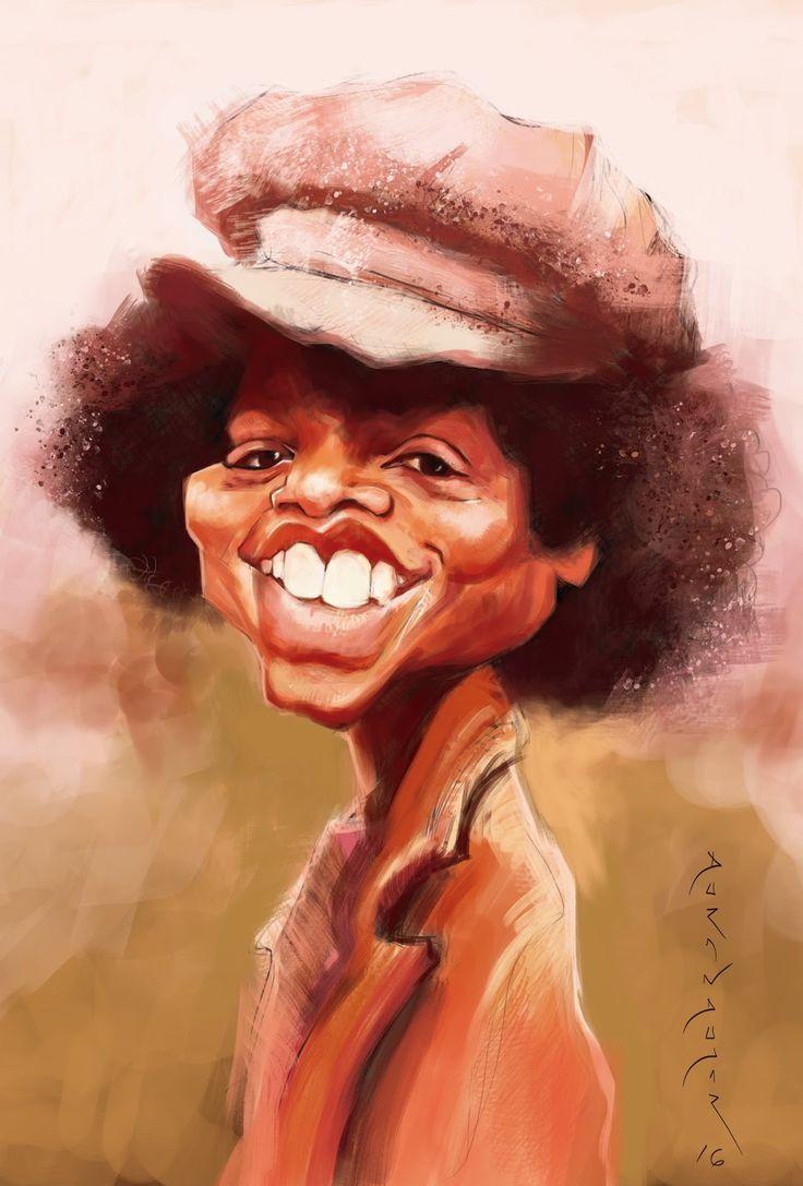 A Youthful Michael Jackson