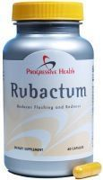 Rubactum - Natural Rosacea Remedy A once daily approach to Rosacea Management. #RosaceaTreatmentNews