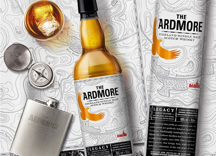 Why not take a look at some of the work Pearlfisher has carried out to help give brands such as The Adrmore iconic status.
