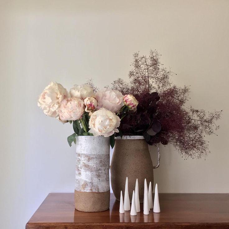 Peonies + Smokebush from my workshop. Favourite combo!