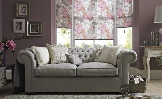 pink and grey living room home decor pinterest