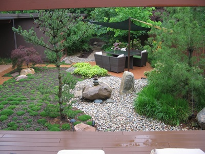 A japanese inspired zen backyard modern design for Japanese zen garden backyard