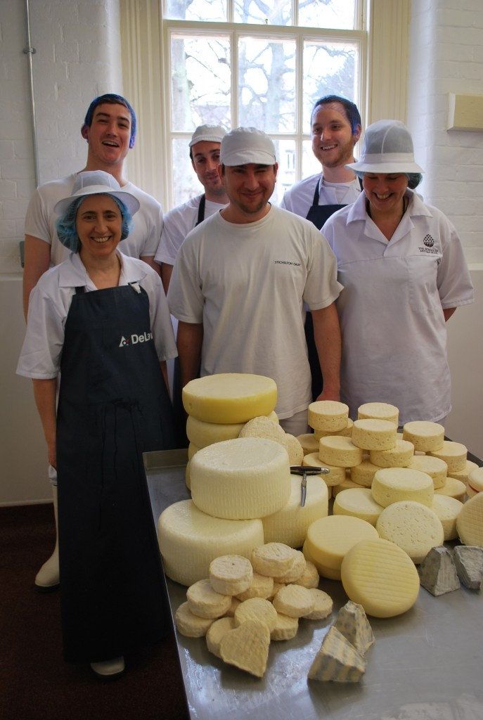A mountain of cheese...