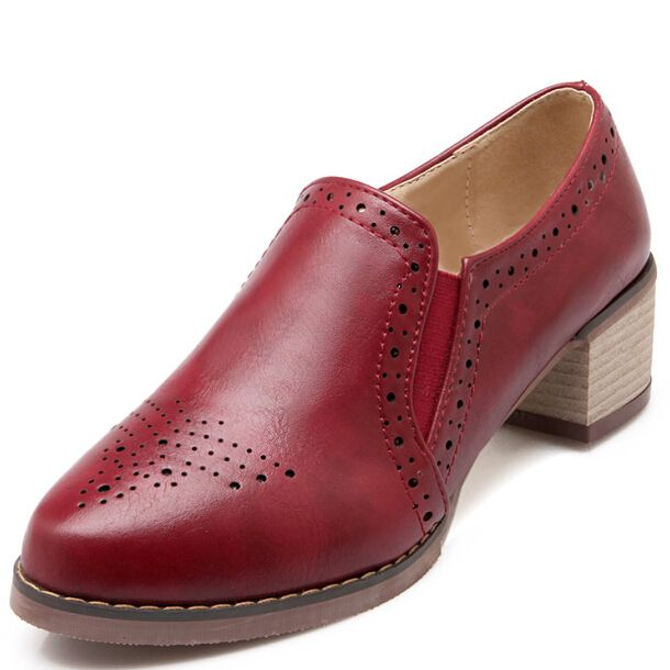 ENMAYER Мода Британский Стиль Острым Носом Каблуки Оксфорд Обувь для Женщин мода Платформа Оксфорды Обувь женские Оксфорды горячей