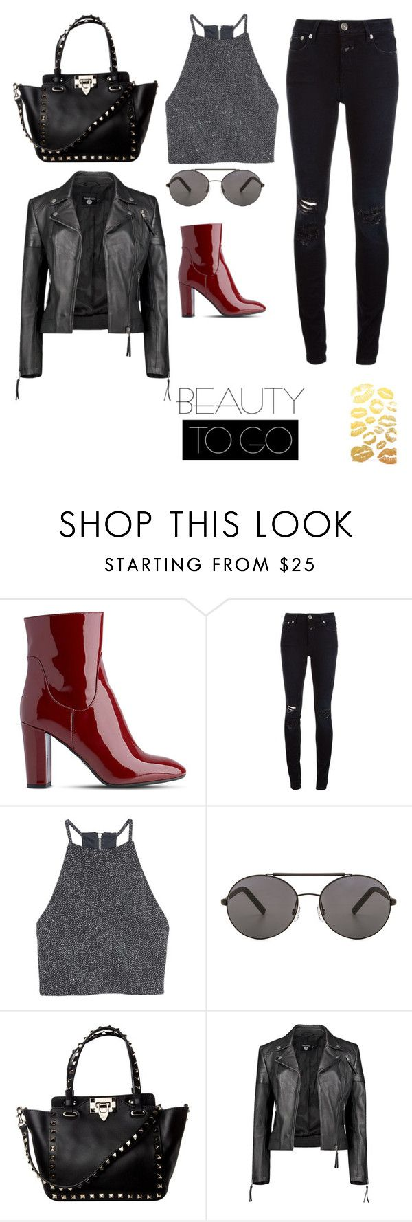 """#All black"" by joe-khulan on Polyvore featuring L.K.Bennett, Closed, H&M, Seafolly and Boohoo"