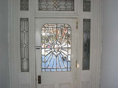 Replacing a pane of glass is a reasonably easy job for a professional but it can cost more than having an entire door replaced, especially if you have irregular shaped, non-square sheets of glass on your door. http://easyhomeconcepts.com/dos-donts-replacing-door-glass/