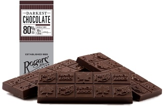 Darkest Chocolate Bar (80% Cocoa)-    Unadulterated chocolate - 80% melt-in-your-mouth dark chocolate.