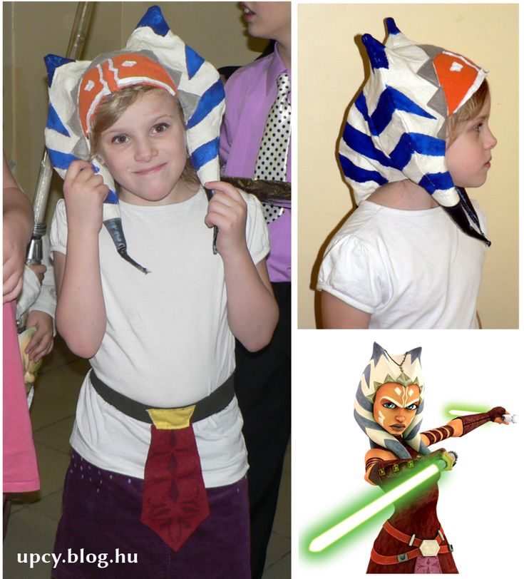 Star (Clone) Wars Ashoka Tano costume. Ashoka jelmez.