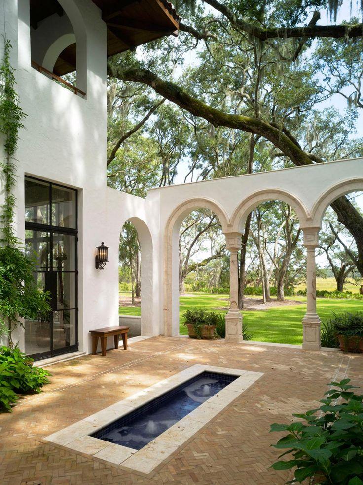 courtyard furniture ideas. 10 spanishinspired outdoor spaces patio ideasbackyard courtyard furniture ideas y
