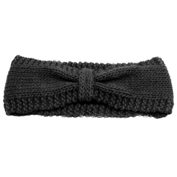 Harper Wool Headband - Black