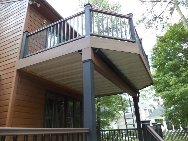 Two Story Deck Design Ideas By Archadeck