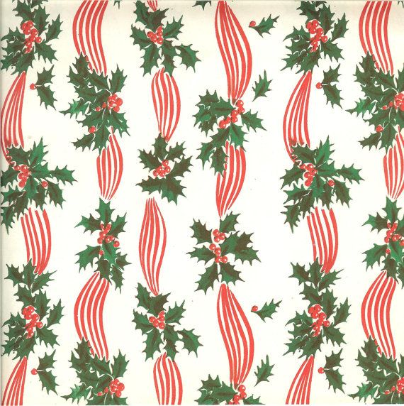 Best 25+ Vintage christmas wrapping paper ideas on Pinterest ...