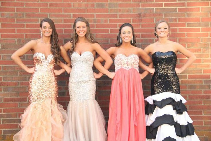 Prom photo girls by DC Photography