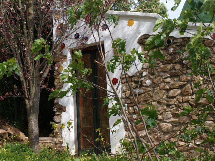 Exteriores de la Casa Rural Tai en El Colmenar-Estación de Gaucín
