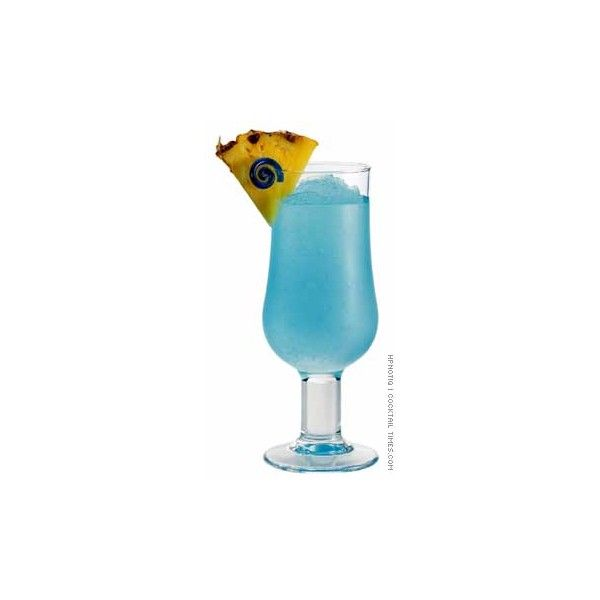 Cocktail Times > Rum Cocktails > Blue Hawaiian ❤ liked on Polyvore featuring drinks, food and food and drink